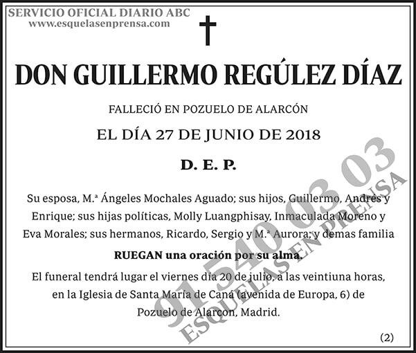 Guillermo Regúlez Díaz
